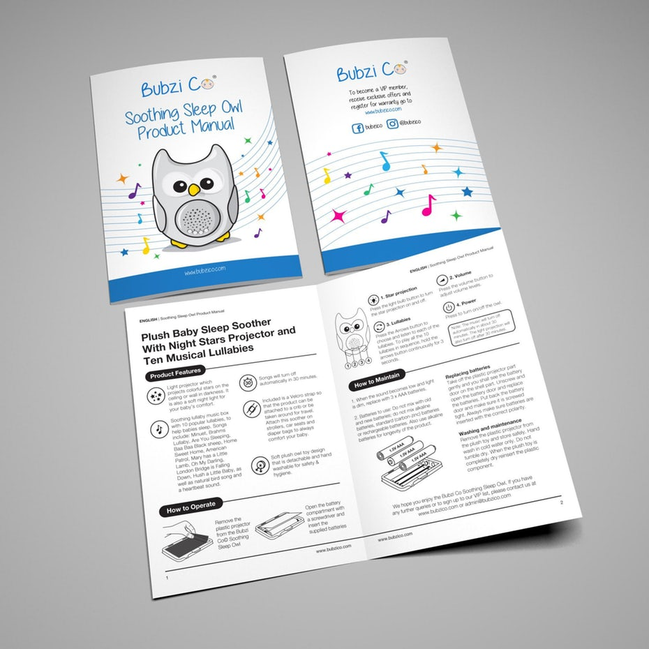 Brochure được thiết kế dưới dạng sách mỏng