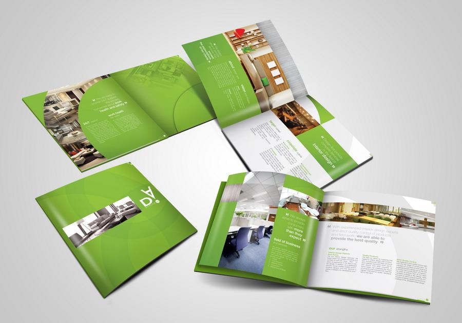 Brochure là hình thức marketing rất hiệu quả