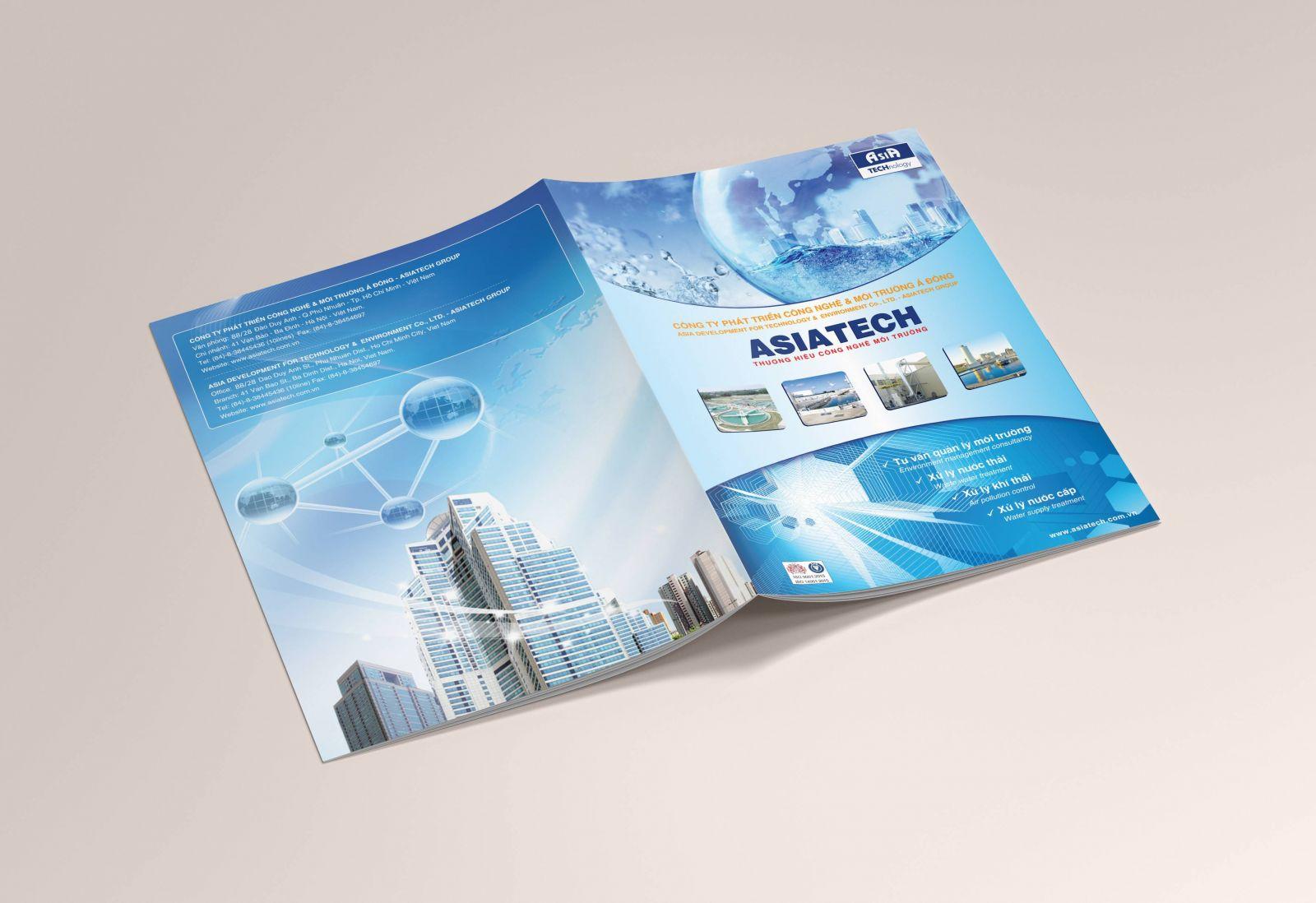 Catalogue của một công ty cơ điện