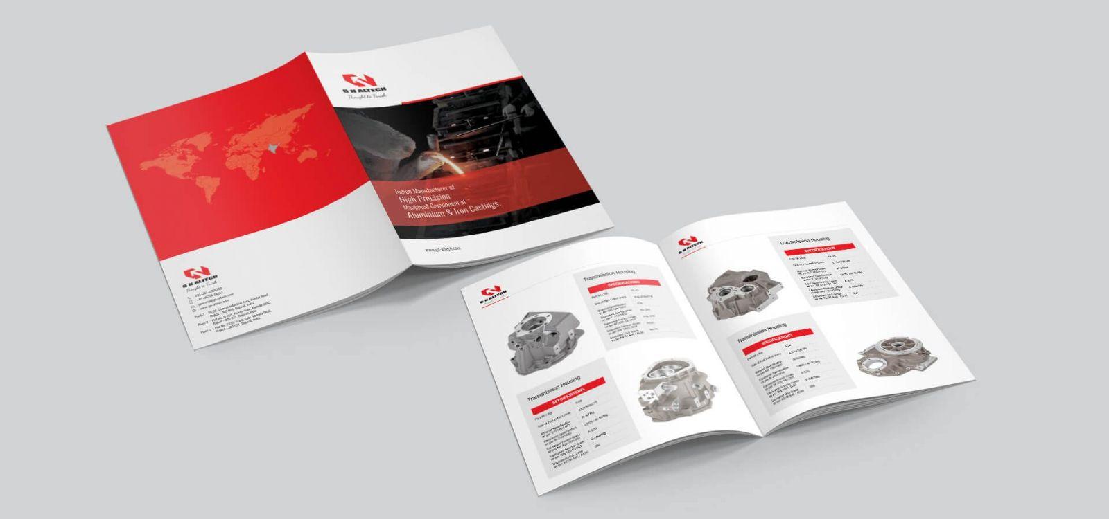 Catalogue là tài liệu quan trọng giới thiệu công ty, sản phẩm