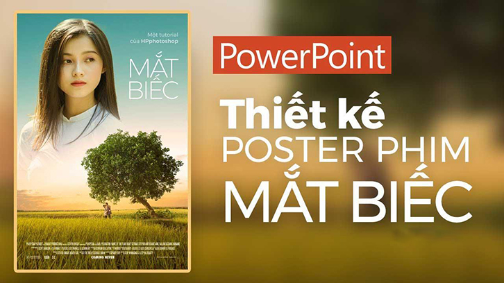 cách làm poster bằng powerpoint