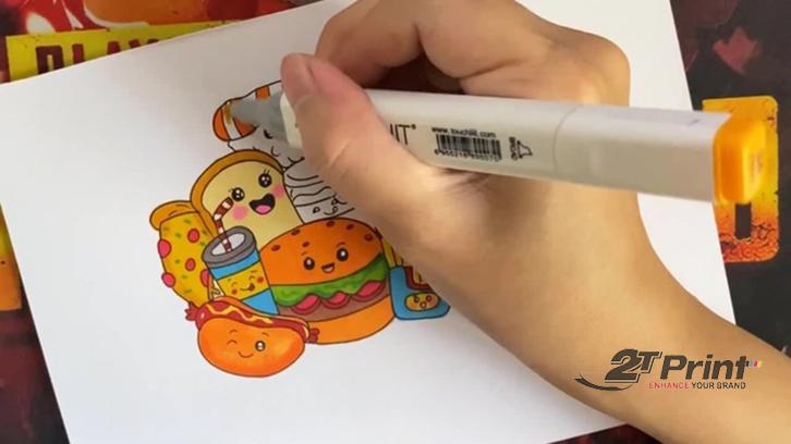 cách làm sticker tại nhà tự thiết kế