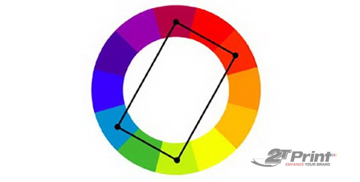 cách phối màu thiết kế bổ túc bộ bốn