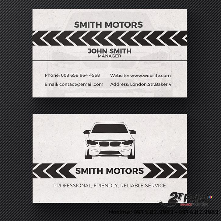 card taxi đen trắng