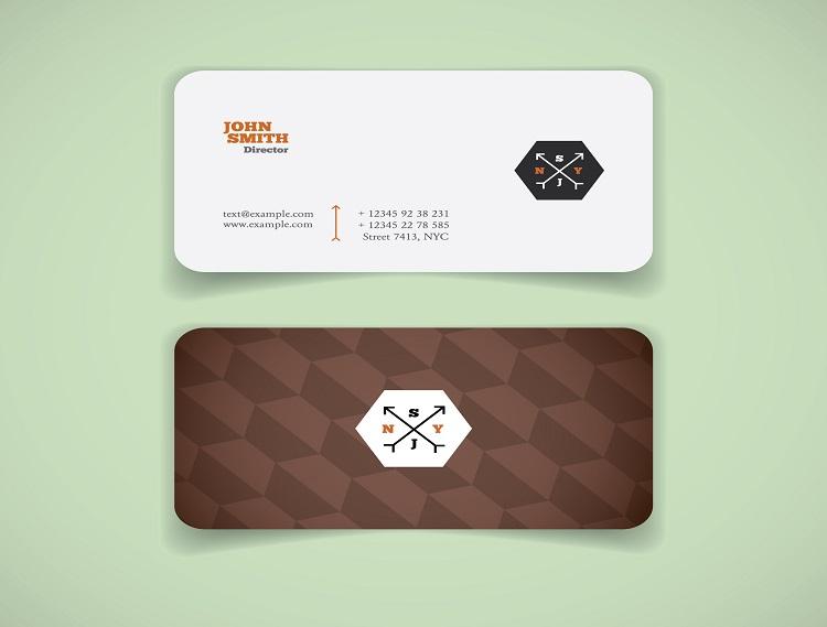 Chức danh tiếng anh trên card visit được in theo mẫu độc đáo và sáng tạo