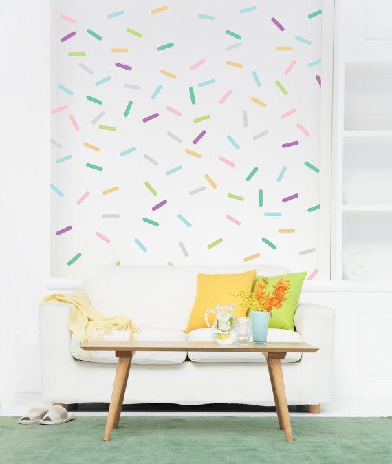 Decal được sử dụng để trang trí tường