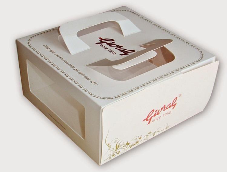 Giấy ivory in hộp đựng thực phẩm