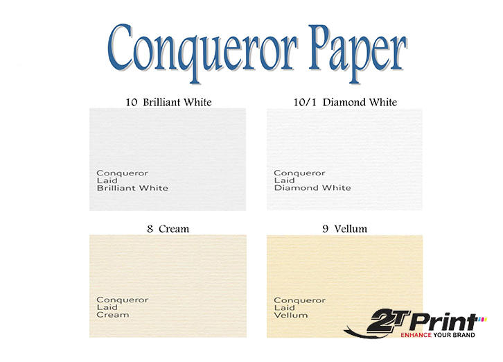 giấy offset conqueror