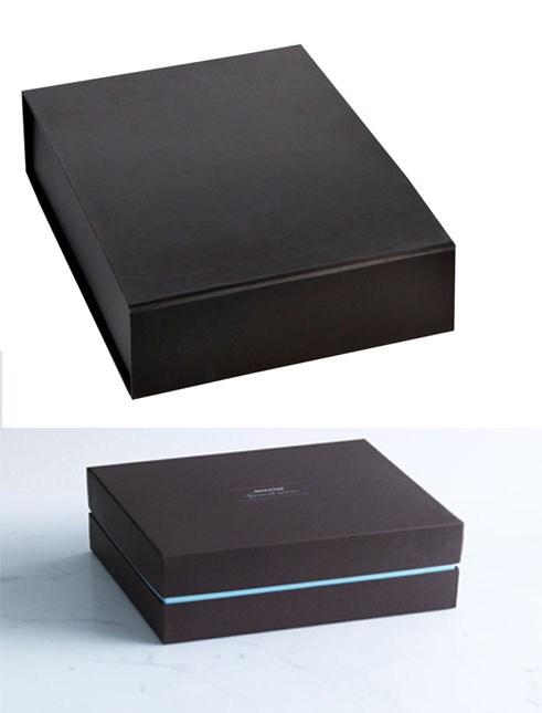 Bên ngoài một hộp đựng USB màu đen