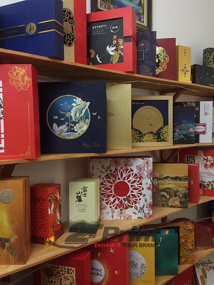 hộp cao cấp làm quà tặng đa dạng