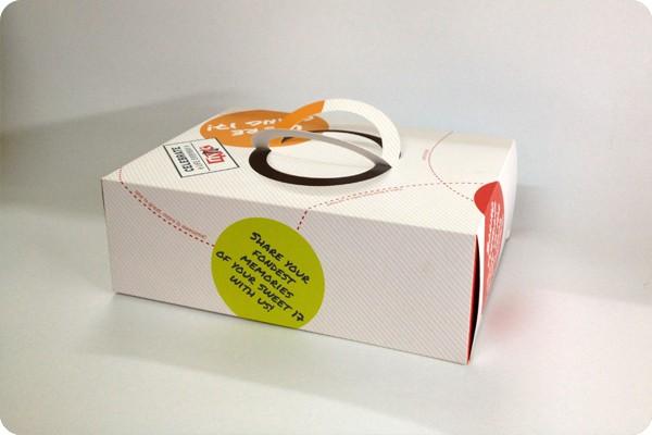 Thiết kế hộp đựng bánh Pizza đẹp giúp tạo ấn tượng.