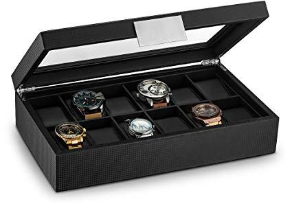 Có nhiều loại hộp đựng đồng hồ khác nhau