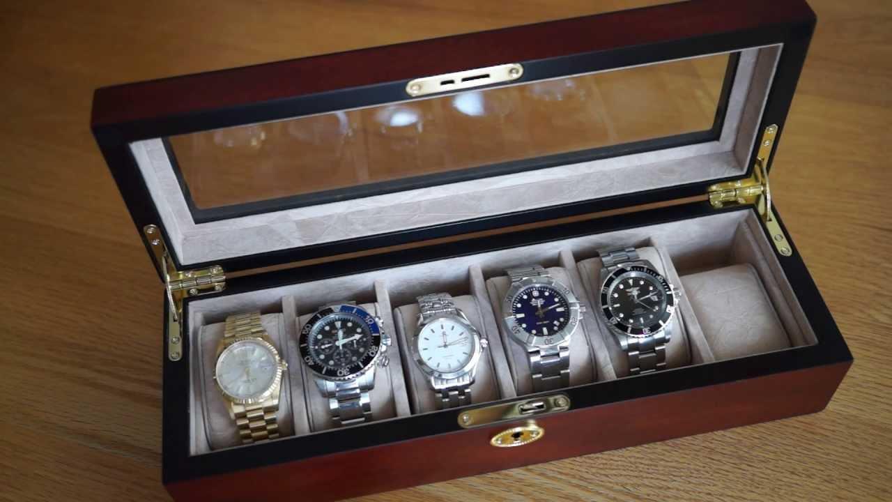 Lựa chọn hộp đựng đồng hồ phù hợp với nhu cầu sử dụng của bạn