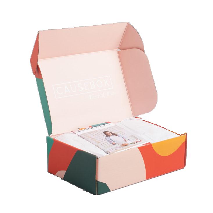 mẫu hộp giấy đựng quần áo ấn tượng