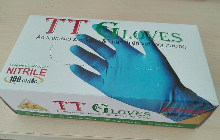 mẫu in hộp giấy đựng găng tay