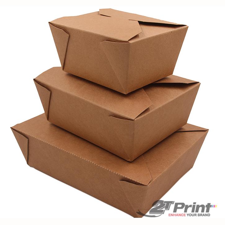 mẫu hộp giấy đựng gà trơn