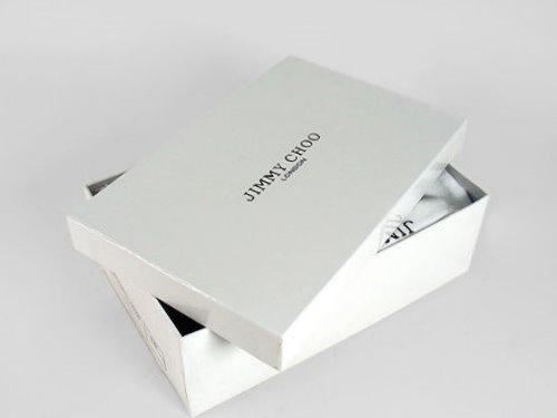 Mẫu thiết kế hộp giấy đựng giày.
