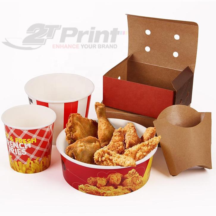 hộp giấy đựng thức ăn đảm bảo an toàn vệ sinh