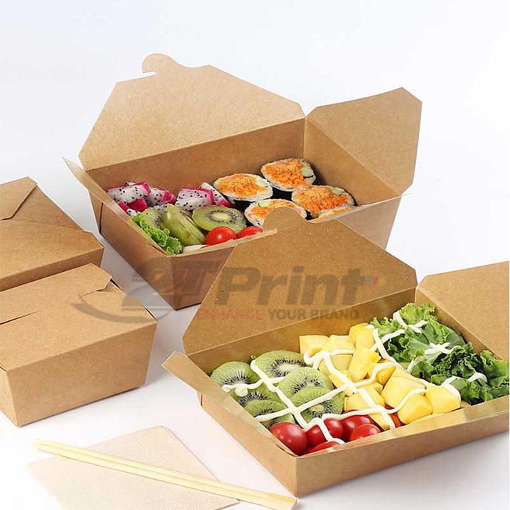 hộp giấy đựng thức ăn được ưa chuộng