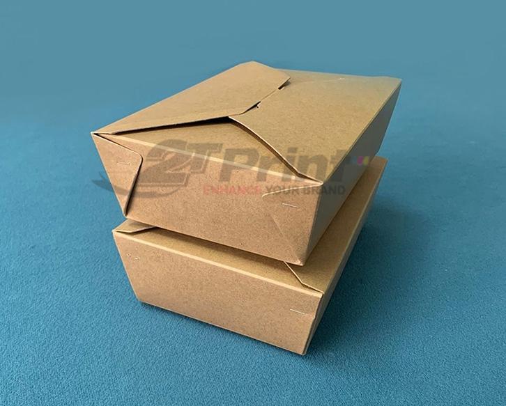 hộp giấy đựng thức ăn mang lại nhiều lợi ích