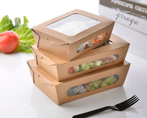 Hộp giấy đựng thức ăn an toàn thân thiện với con người và môi trường.