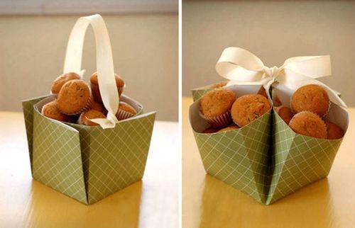 Hộp giấy đựng thức ăn thiết kế rất đa dạng.