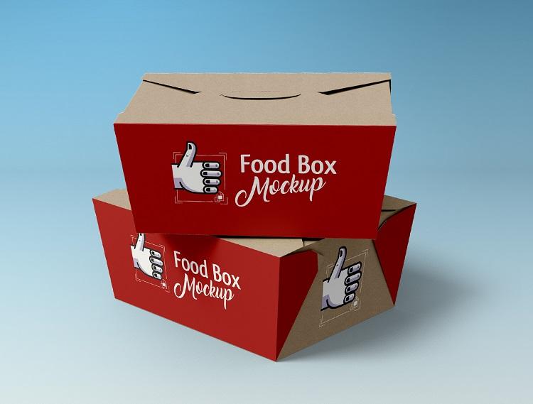 Hộp giấy đựng thức ăn sáng tạo