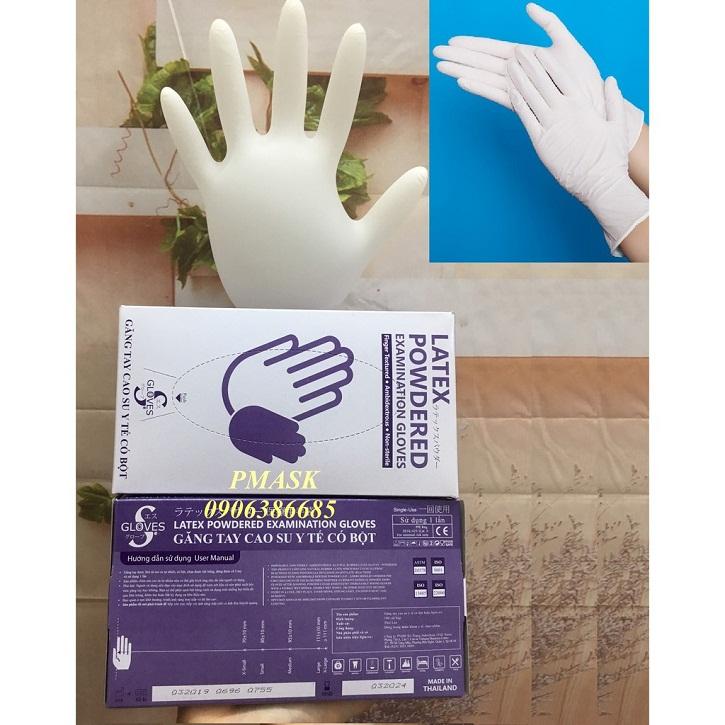 In hộp giấy đựng găng tay giá rẻ