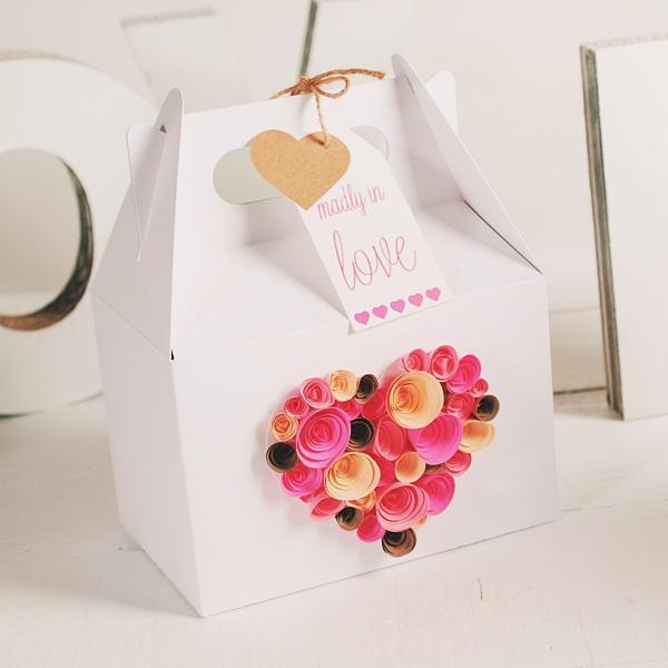 hộp quà cưới ánh kim