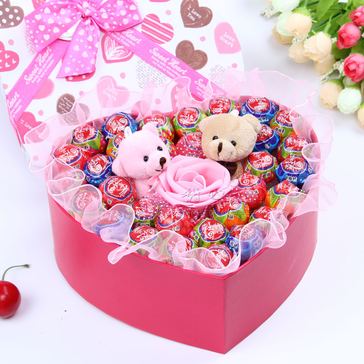 Hộp quà sinh nhật trái tim