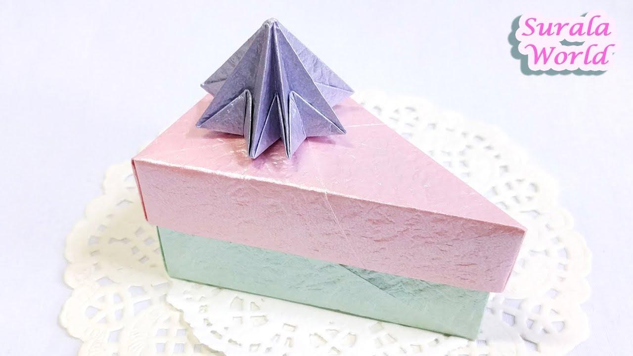 Hộp quà sinh nhật tam giác