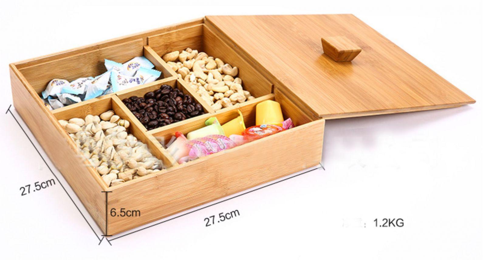 Hộp quà tặng bằng gỗ có tính thẩm mỹ cao.