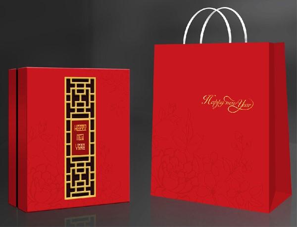 Hộp quà tết thay lời yêu thương, thay cho câu chúc an khang, thịnh vượng, năm mới sức khỏe