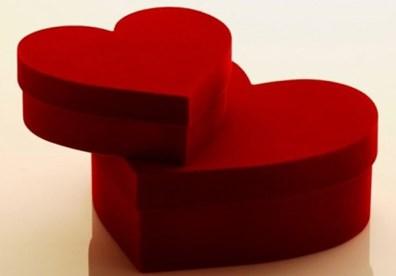 Hộp quà tình yêu handmade dễ thương