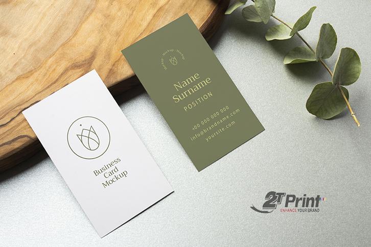 mấu thiết kế card visit bằng corel