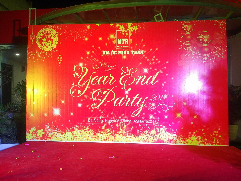 in bạt, backdrop tiệc cuối năm