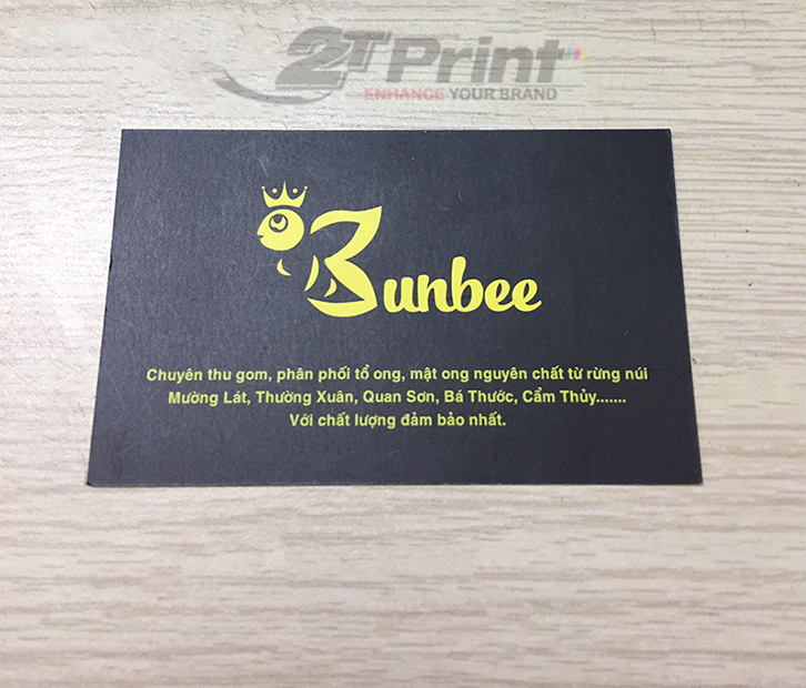 in card visit giấy mỹ thuật