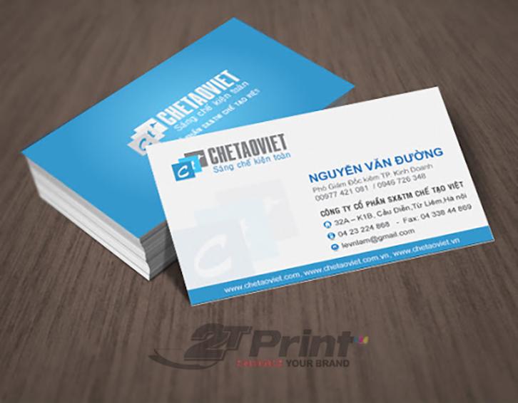 in card visit có rất nhiều lợi ích