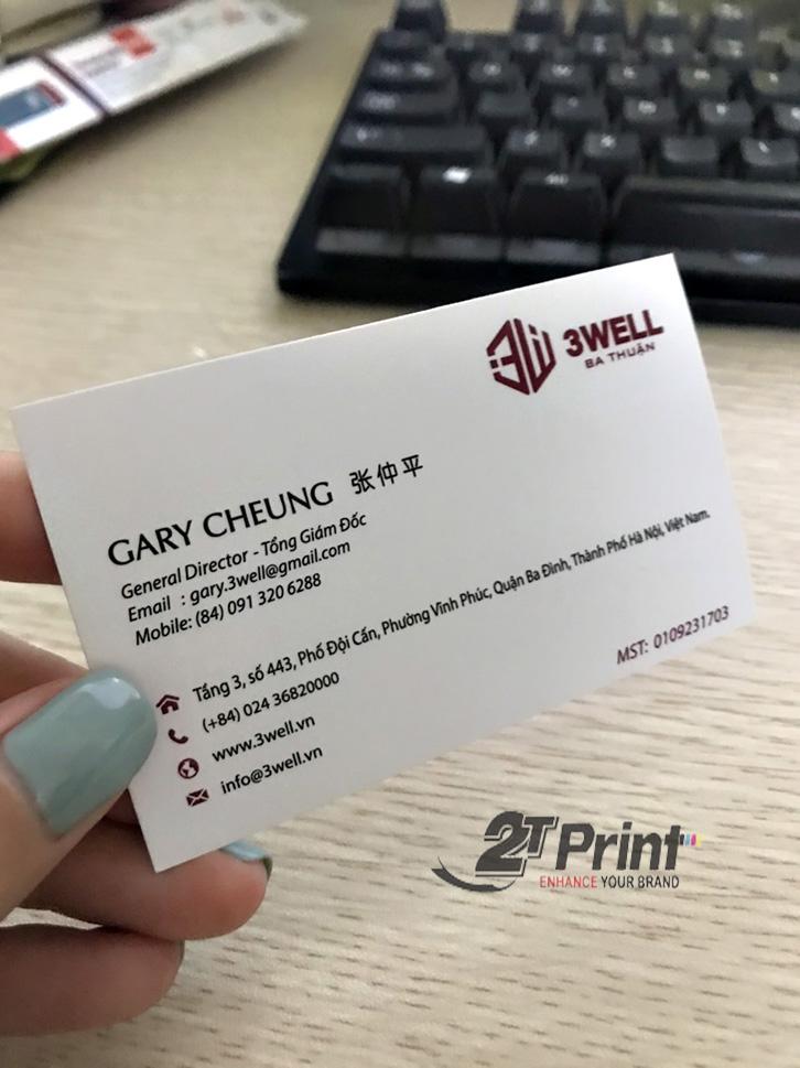 mẫu in card visit cho cá nhân
