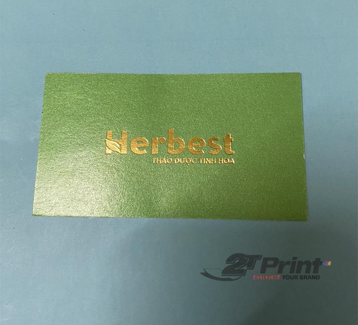 in card visit giấy mỹ thuật nhiều ưu điểm