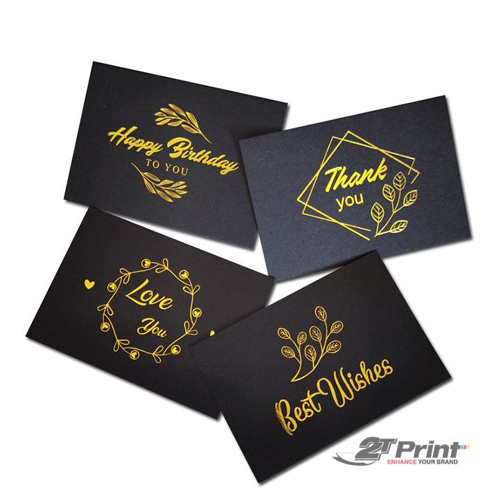 in card visit giấy mỹ thuật tinh tế