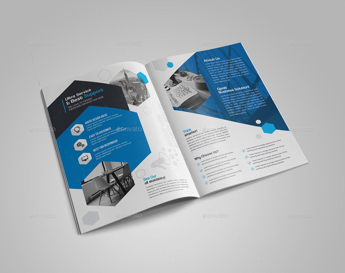 Brochure dạng Bi-fold