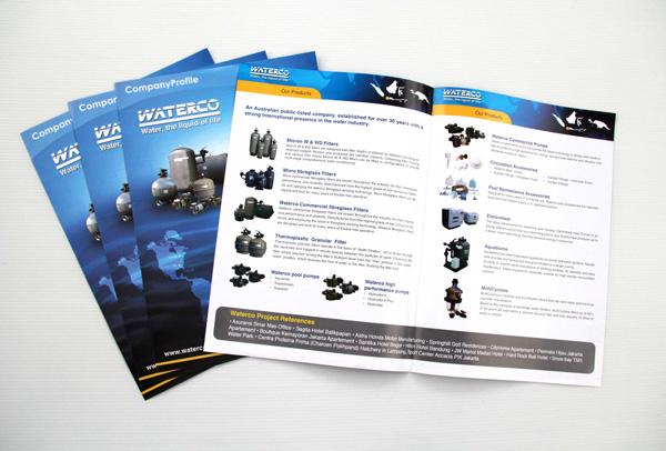 các sản phẩm brochure luôn đảm bảo chất lượng tuyệt đối
