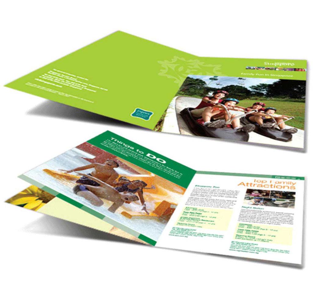 những mẫu thiết kế brochure vô cùng đẹp mắt và độc đá