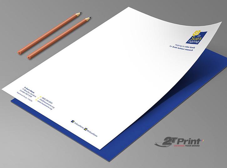 quy trình in giấy tiêu đề