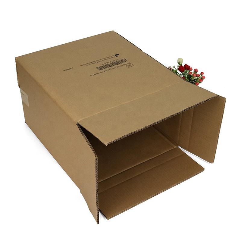 thùng carton nắp gập