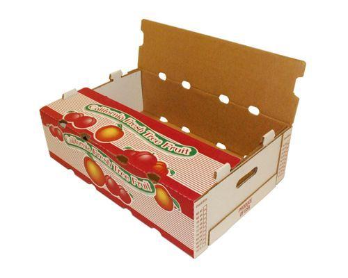 Lựa chọn chất liệu in thùng carton đựng hoa quả.