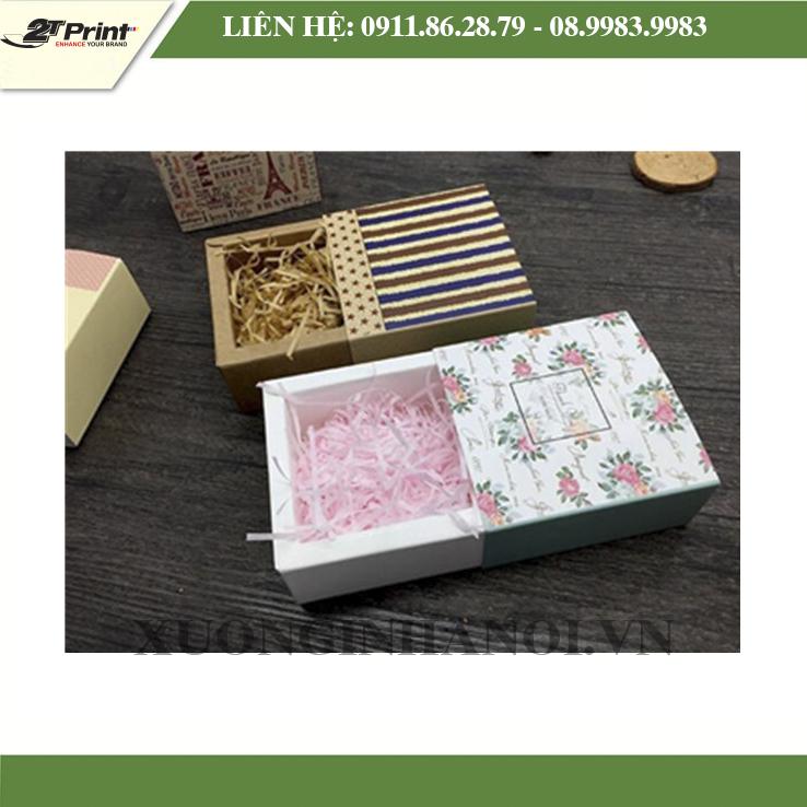 In hộp giấy đựng quà tại Hà Nội