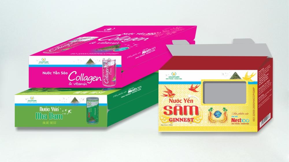 Sử dụng hộp giấy đựng thực phẩm chức năng giúp gây ấn tượng, thu hút người mua