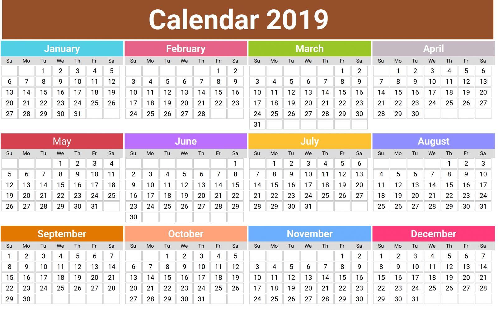 In lịch Tết 2019 càng sớm giá sẽ càng rẻ